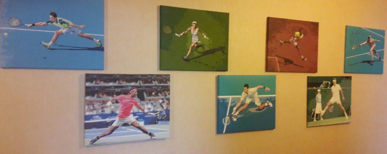 Картины по номерам по фото Теннис