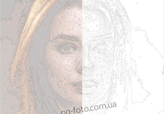 Разница между белым и цветным холстами